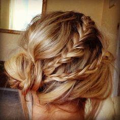 Nice #Hair #Brides  Poppy Loves Pinterest: Lovely Hair for Brides