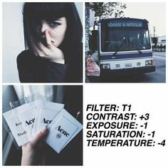 free filter❕this works on everything and it's cool for a feed, also works really well on selfies ↞✧≪∘∙✦MsMsft✦∙∘≫✧↠ Vsco Photography, Photography Filters, Photography Editing, Grunge Photography, Fotografia Vsco, Foto Filter, Fotografia Tutorial, Vsco Themes, Vsco App