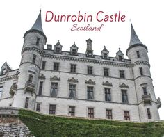 Discover Dunrobin Castle Scotland, the fairy-tale castle with beautiful gardens by the sea North of Inverness - Video, Photos and info to plan your visit Scotland Hiking, Scotland Travel, Scotland Trip, Holiday Destinations, Travel Destinations, Family Friendly Holidays, Scotland Castles, Ancient Buildings, Fairytale Castle