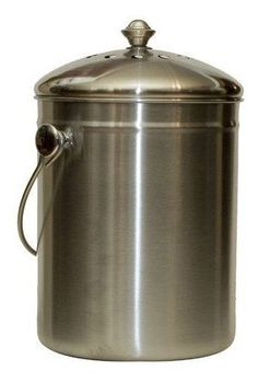 Natural Home Stainless Steel Compost Bin Natural Home Http://www.amazon.