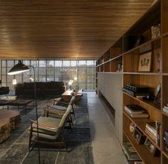 Bücherregale Stühle Design Wohnzimmer rustikal