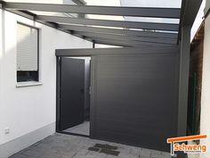 Carport Plans, Carport Garage, Carport Aus Aluminium, Driveway Entrance, Electric Gates, Carports, She Sheds, Design Case, Garages