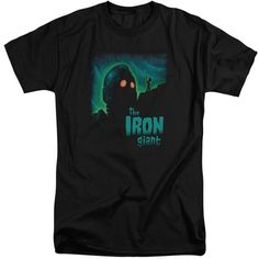Iron Giant/Look To The Stars Short Sleeve Adult T-Shirt Tall in