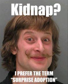 That moustache