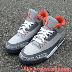 "Air Jordan 3 ""Pigeon"" Custom 