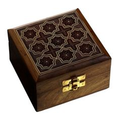 Handmade Jewelry Box Wood Carved Gift for Sister 4 X 4 X 2.5 Inches ShalinIndia http://www.amazon.com/dp/B005EJOW6U/ref=cm_sw_r_pi_dp_m-zKtb0G6VR0GWEK