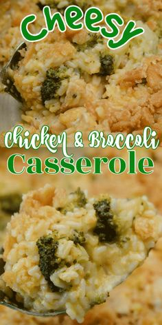 Cheesy Chicken Broccoli and Rice Casserole is comfort at its finest as it combines chicken, broccoli rice, and seasonings to create an easy dish your family will love. It is also the perfect dish to make ahead of time for those busy nights. Cheesy Rice, Cheesy Chicken, Cream Of Chicken Soup, Fresh Broccoli, Broccoli Rice, Dutch Oven Pot Roast, Homemade Hamburger Helper, Homemade Lasagna, Homemade Hamburgers
