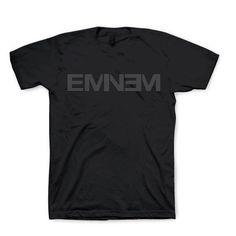 Eminem Logo T-Shirt - Black