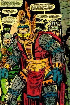 Jack Kirby's The Eternals http://ebay.to/1MkkL4b                                                                                                                                                                                 More