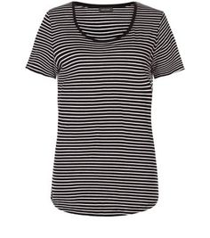 Black Stripe T-Shirt Black Stripes, New Look, Mens Tops, T Shirt, Clothes, Women, Fashion, Outfit, Tee