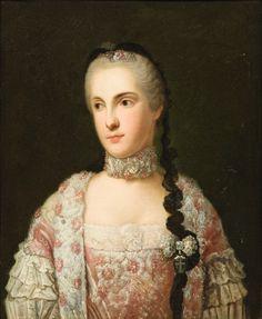 Princess Isabella of Parma, attributed to Giuseppe Baldrighi.