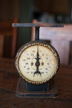 Antique American Family Scale  Grand Union by PrimitiveMoose, $35.00