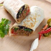 Burrito de Carne Picada