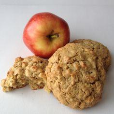 Apple Cinnamon Quinoa Cookies, gluten free, nut free, dairy free!