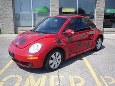Ladybug! if you look closely at the spots you can see the VW logo---THIS WILL be my car one day!!!