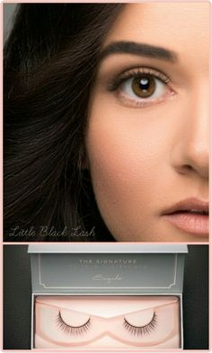 6645da2a733 The difference false eyelashes make. #esqido #littleblacklash #bridal  #makeup #brides
