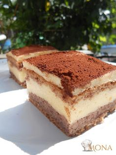 Recepti i Ideje: Kremasti Tiramisu Lady Fingers, Nutella, Dessert Recipes, Baking, Ethnic Recipes, Tej, Food, Pasta, Cakes