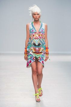 ZsaZsa Bellagio – Like No Other: Color Fabulous on the Runway: Manish Arora