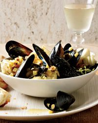 Curried Cod and Mussels by Alain Ducasse