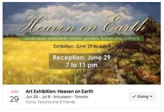 """""""HEAVEN ON EARTH"""" EXHIBITION  I am pleased to announce that """"RHYTHMIC RIPPLES 46"""" will be available at this art exhibition!  Venue:  ARTUSIASM ART GALLERY http://www.artusiasm.com 1684 St. Clair Avenue West, Toronto Reception: June 29, 2017 from 7PM - 11PM Exhibition: June 29, 2017 to July 9, 2017  Hope to see you there!  #artusiasm #artexhibition #artforsale #artist #artistlife #artistnews #artistpesin #artistworking #artoftheday #artpainting #artsandculture #artservices #artshopping…"""
