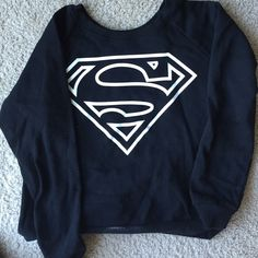 Forever XXI crewneck Superman crewneck ****listed as BM for views only**** Brandy Melville Sweaters Crew & Scoop Necks
