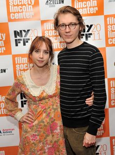 Zoe Kazan and Paul Dano at the Annual New York Film Festival. I believe Zoe is wearing a vintage dress, which is super gorgeous! We Movie, About Time Movie, Paul Dano Zoe Kazan, Zoe Kazan Style, Ruby Sparks, Richard Roundtree, Crime Film, American Crime, Big Picture
