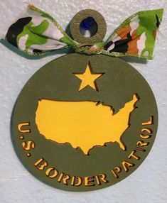 U.S. Border Patrol Ornament