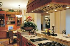 Arts & Crafts House Plan Kitchen Photo 02 - 011S-0017 | House Plans and More