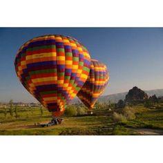 Turkey in Cappadocia and hot air ballooning Canvas Art - Darrell Gulin DanitaDelimont (36 x 24)