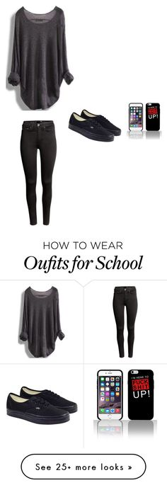 """""""Blah"""" by clairebear89 on Polyvore featuring H&M and Vans"""