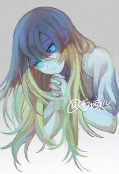Art Anime, Anime Artwork, Anime Fantasy, Fantasy Girl, Oc Drawings, Rpg Horror Games, Satsuriku No Tenshi, Angel Of Death, Manga