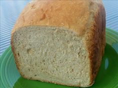 Apple Chunk Bread for the Bread Machine from Food.com: A great bread for breakfast. Cooking time is the amount of time it takes in my bread machine.