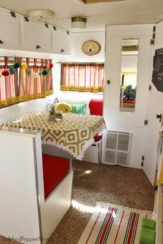 Salt and Pepper Moms: Gus is Done! The Completed Travel Trailer Project