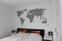 50 Creative Ways to DIY Your Own Wall Art | Brit + Co