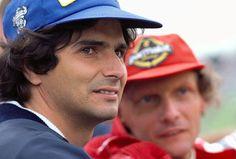 Nelson Piquet y Nikki Lauda