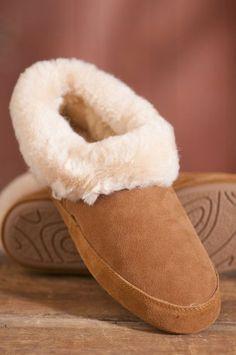 Women's Cabin Sheepskin Slippers