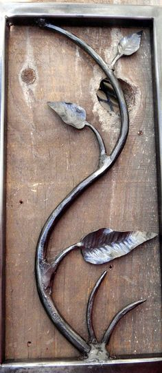 Blacksmith Hand Forged Wrought Iron Sculpture by TheMillandAnvil, $125.00
