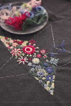 Embroidered star / Cazadora de inspiración ©️️ Anna Tykhonova