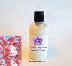 Blushing Cherry Blossom Lux Mermaid Creme  Take our quiz to find your perfect fragrance! We can add that product to ANY product that we make! We specialize in personalized products and incredible customer service. RoyalMermaid.com #royalmermaid #thecaptai