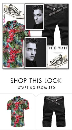 """""""Newchic (29/XI)"""" by dorinela-hamamci ❤ liked on Polyvore featuring men's fashion and menswear"""