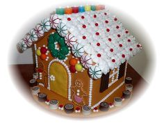 Pretend Play Kitchen - The Gingerbread House, in Felt