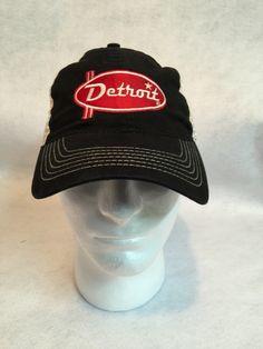 066e070e873 Red Racer Trucker Cap on black. Detroit Apparel Factory. Metro Detroit ...