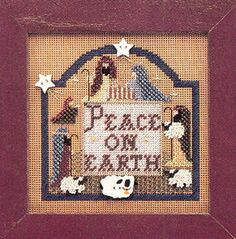 Mill Hill Kits - Peace Earth Christmas Cross Stitch Kit