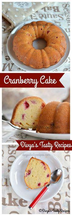 cranberry cake, cranberry coffee cake