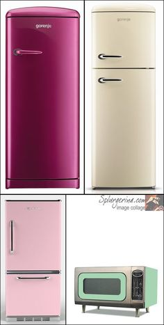 Retro Fridges From Big Chill Can Someone Just Gift Me