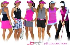 Holiday 2014 Jofit Women's golf and tennis wear