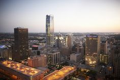 Downtown Oklahoma City Skyline at Twilight by Greater Oklahoma City Chamber & CVB, via Flickr