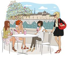 Book de l'illustratrice Magalie F Portfolio / Les cacharelles