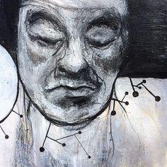 SKETCHBOOK 2018 - Moleskine sketchbook - 13/21) cm Art work by #sebastienguenot #drawing #ballpointpen #ink #acrilicpainting #paint #mixedmedia #sketchbook #sketchbookart #sketchbookdrawing #carnetdecroquis #moleskineart #figurativeart #art #artwork #illustration #art_collective #artoftheday #drawanyway #dessindujour #dessin #アート #素描 #艺术 #hand #lines Acrilic Paintings, Moleskine Sketchbook, Hand Lines, Ballpoint Pen, Figurative Art, Art Day, Art Work, Illustration Art, Drawings