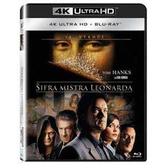 Blu-ray Šifra mistra Leonarda, The Da Vinci Code, UHD + BD, CZ dabing | Elpéčko - Predaj vinylových LP platní, hudobných CD a Blu-ray filmov Tom Hanks, Coding, Movies, Movie Posters, Films, Film Poster, Cinema, Movie, Film